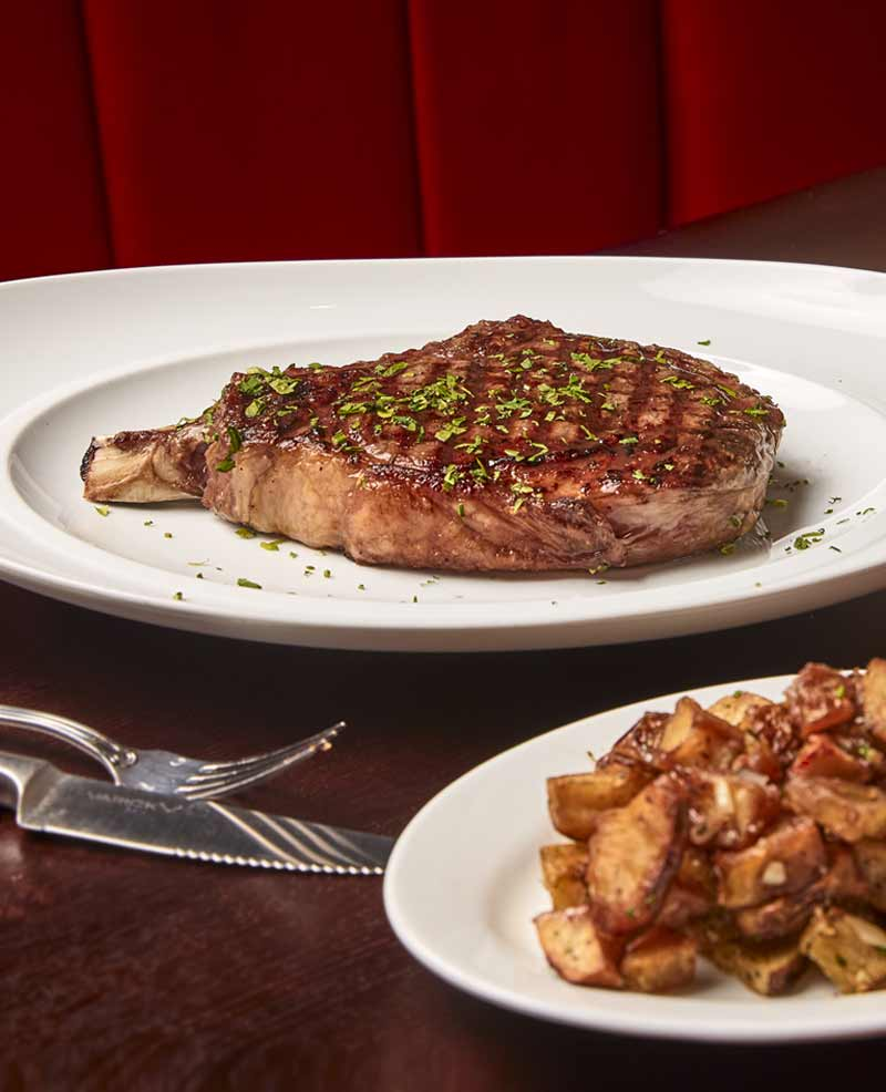 One of Chicago's tastiest ribeye steaks